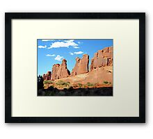 Arches National Park - Moab, Utah Framed Print