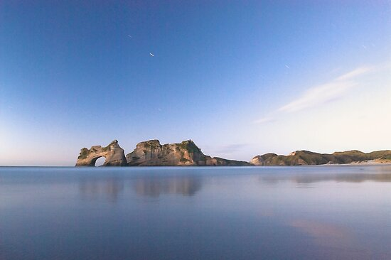 One last Wharariki beach night shot by Paul Mercer