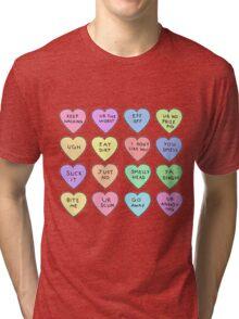 Bitter Hearts Tri-blend T-Shirt