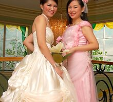 bride's maid and bridal gown design 11 by walterericsy