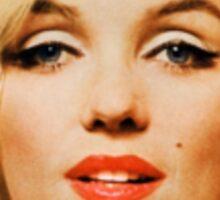 Marilyn Monroe photographed by Bert Stern, 1962 Sticker