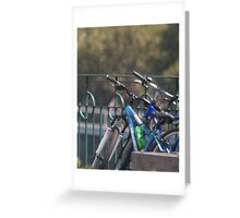 Common Bicycles (bicycle familiaris)   Greeting Card