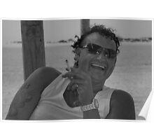Mark Gowan on Sancti Petri Beach Poster