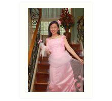 bride's maid gown design 20 Art Print