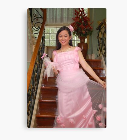 bride's maid gown design 20 Canvas Print