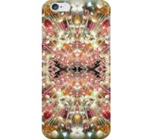 Photo Series: Image Number 125H Wild Horses Pastel Fields (12 images in this edition) iPhone Case/Skin