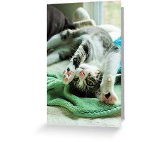 Yoga Ellie Greeting Card