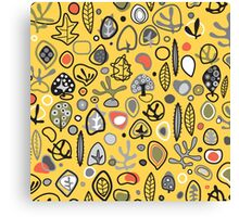 Fab fifties abstract design  Canvas Print