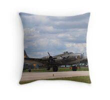 Memphis Belle - B-17F Throw Pillow