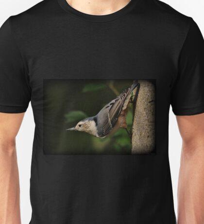 Posing Nuthatch Unisex T-Shirt