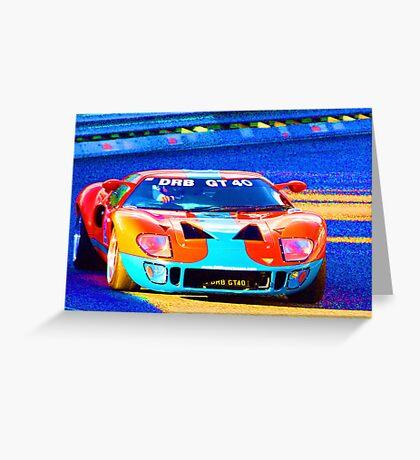 DRB GT40 Greeting Card