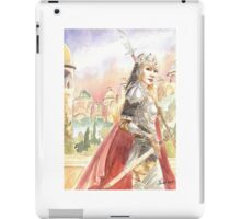 Palace Guard - female fantasy warrior iPad Case/Skin