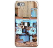 Old Sugar Factory Equipment iPhone Case/Skin