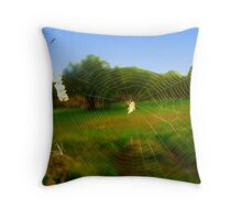 .incy wincy spider .. Throw Pillow
