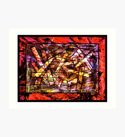 Church Of The Red Hot Chips Art Print