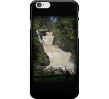Raymondskill Falls Power Rush iPhone Case/Skin