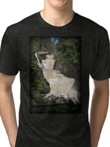 Raymondskill Falls Power Rush Tri-blend T-Shirt