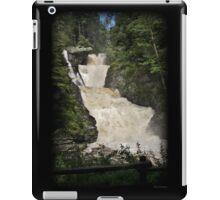 Raymondskill Falls Power Rush iPad Case/Skin