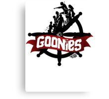 The Goonies - ver 2 Canvas Print
