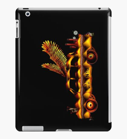 flying taxi number 63 iPad Case/Skin