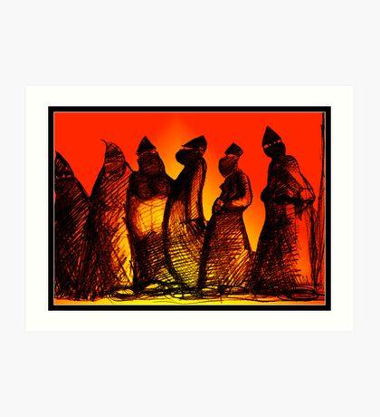 Burkadoodledandies Art Print