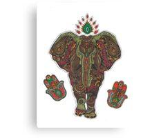 The energy of an elephant Canvas Print