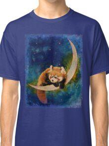 Red Panda Moon Classic T-Shirt