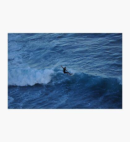 Winter Surfer Photographic Print
