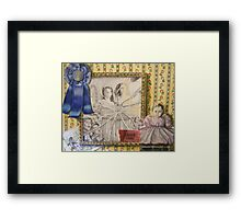 Wonders of the world Framed Print