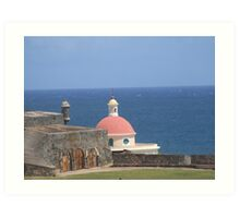 San Juan old buildings  Art Print