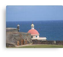 San Juan old buildings  Canvas Print