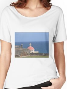 San Juan old buildings  Women's Relaxed Fit T-Shirt