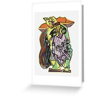 Picasso Screen Print Nº 24 Greeting Card