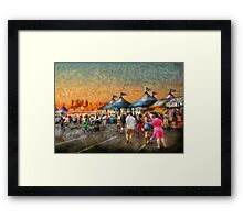 Carnival - Who wants Gyros Framed Print