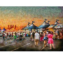 Carnival - Who wants Gyros Photographic Print