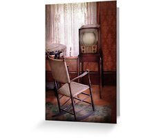 Television - The Invention of Television  Greeting Card