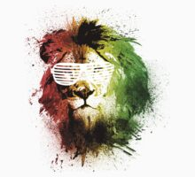 Rasta Lion Vision by TEALfoxy
