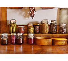 Chef - I love preserving things Photographic Print