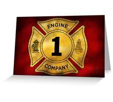 Fireman - Engine Company 1 Greeting Card