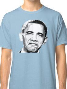 Awesome Barack Obama - Stencil - Street art Graffiti Popart Andy warhol by Jonny2may Classic T-Shirt