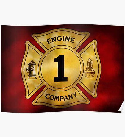 Fireman - Engine Company 1 Poster