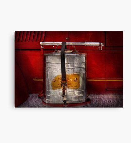 Fireman - Indian Pump  Canvas Print