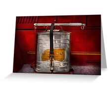Fireman - Indian Pump  Greeting Card