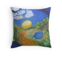 Most Important Balance Throw Pillow