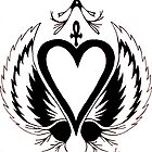 The Flying Tattoo Heart by Meg Engele