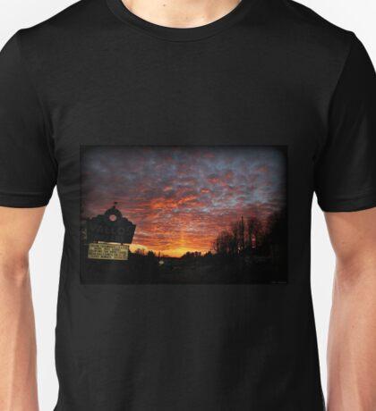 Salisbury Township Sunset Pillar Unisex T-Shirt