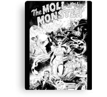 MOLL OF THE MONSTER Canvas Print