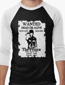 Wanted Prince Devitt - Punisher  (Finn Balor) T - Shirt Men's Baseball ¾ T-Shirt