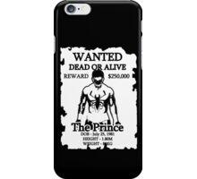 Wanted Prince Devitt - Anti Venom  (Finn Balor) T - Shirt iPhone Case/Skin