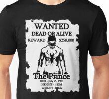 Wanted Prince Devitt - Anti Venom  (Finn Balor) T - Shirt Unisex T-Shirt